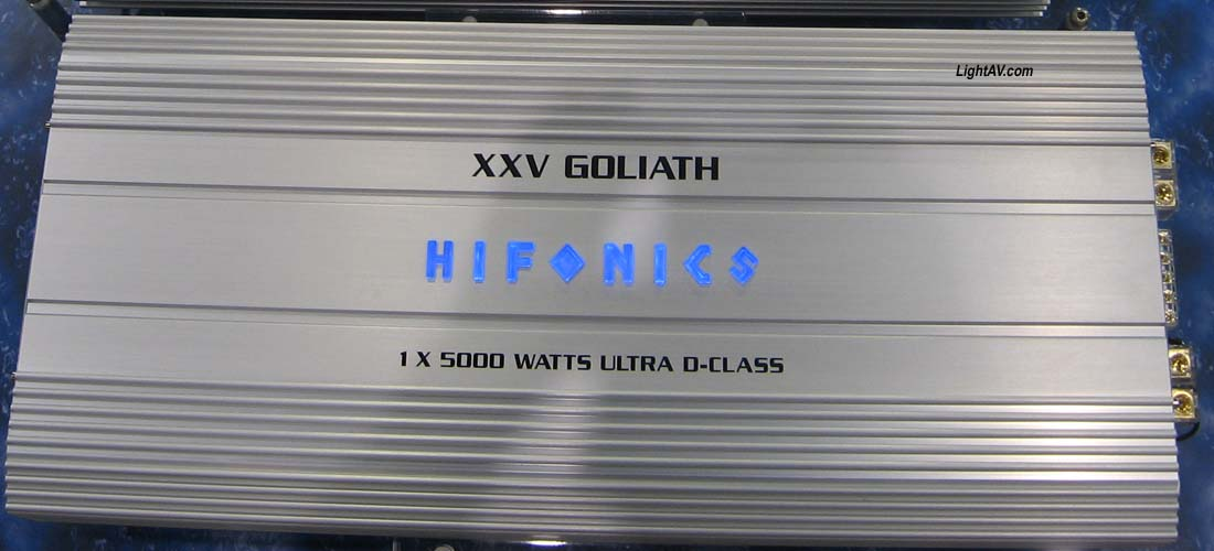 Hifonics 5000 watt amp